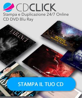 Personalizza i Tuoi CD DVD Blu Ray Online 24/7 con CD-Click