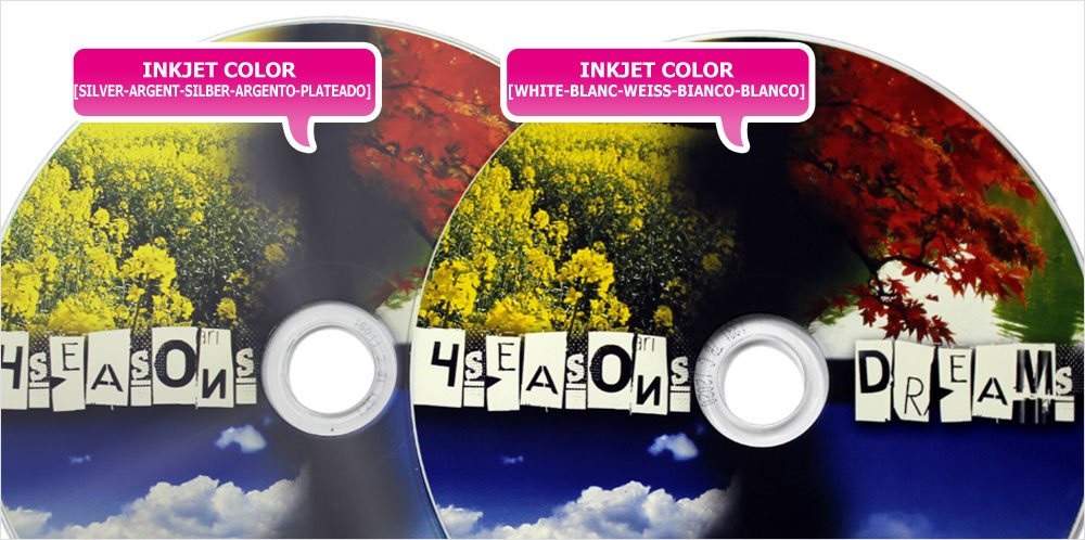 Stampa CD Inkjet Colore